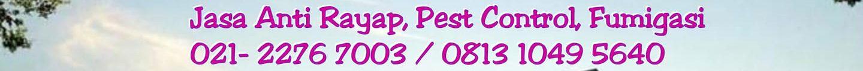 Jasa Pengendalian Hama dan  Serangga